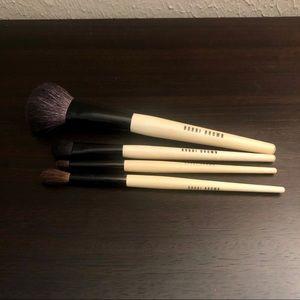 Bobbi Brown makeup brush set of 4